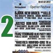 Open'er 2012 - dzień 2