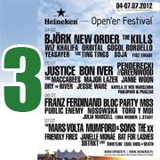 Open'er 2012 - dzień 3