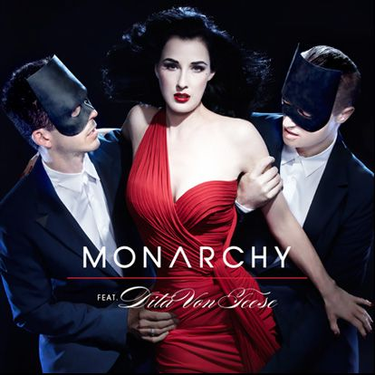 "Post Thumbnail of Monarchy feat. Dita von Teese - ""Disintegration"""