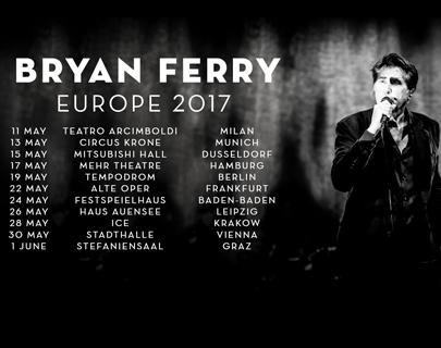 Bryan Ferry – 28.05.2017